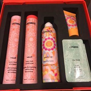 Amika pro *color safe* promo kit.